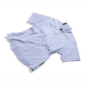 Shirt pin point korte mouw