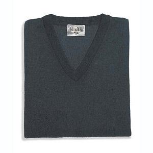 Pullover cotton V-neck
