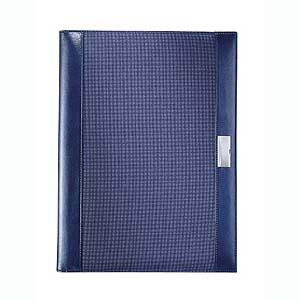 A4 schrijfmap blue tone