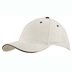 Cap 6 panel heavy twill sandwich New Castle
