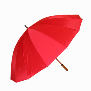 Storm paraplu 16 baans uni doorsnede 130 cm