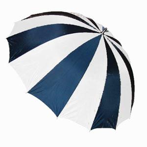 Storm paraplu 16 baans meerkleurig doorsnede 130 cm