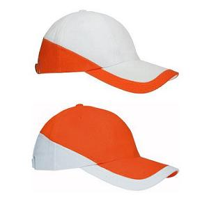 Cap 6 panel duo colour