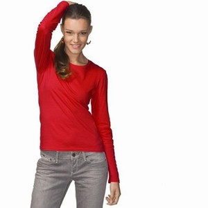 Hanes ComfortSoft LS T-shirt for her