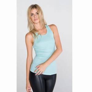 Bella Sheer Rib Racerback Tank Top