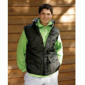 Lemon en Soda Nylon Polar Fleece Bodywarmer