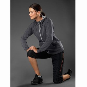 Hanes Cool-DRI Hooded Sweatjacket for her
