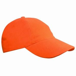 Kids Brushed Promo Cap oranje