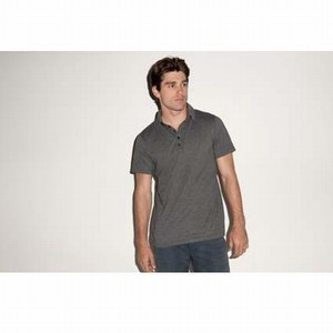 Bella Canvas Jersey 5 button Polo for him