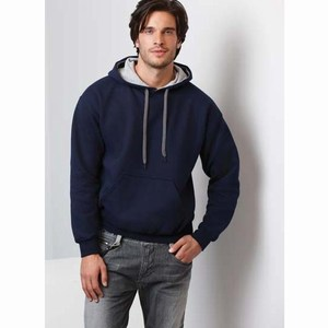 Gildan Heavy Blend Adult Contrasted Hooded Sweater