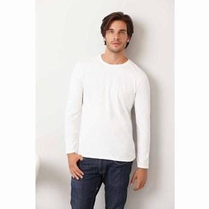 Gildan Softstyle Ringspun T-shirt LS for him