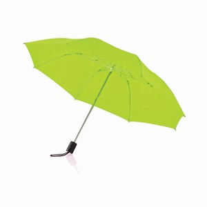 20 inch opvouwbare paraplu lime