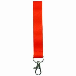 Lanyard Oranje 2 cm met veiligheidssluiting