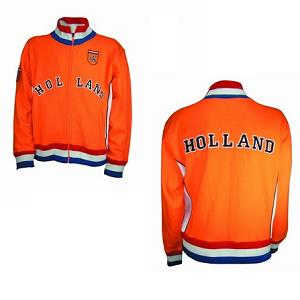 Retro-Jacket with Holland Logo Orange Kids