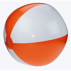 Beachball 21 Inch Deflated oranje-wit