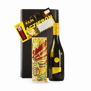 Kerstpakket Prosecco Bomba