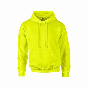 Gildan 12500 hooded sport sweater safety green