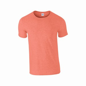 Gildan 64000 T-shirt softstyle heather orange