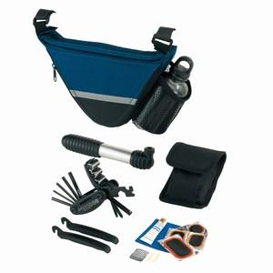 Gereedschapset Bike Aid, blauw, zwart