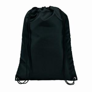 210D polyester rugzak Town, zwart