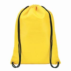 210D polyester rugzak Town, geel