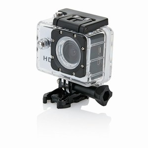 Action camera inclusief 11 accessoires, wit
