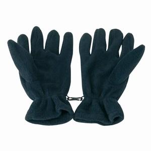 Fleece handschoenen, marine blauw