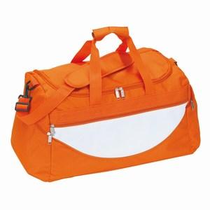 Sporttas Champ, oranje, wit