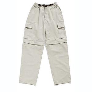 Pants zip-off