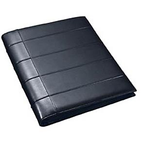 A4 zipper portfolio de luxe