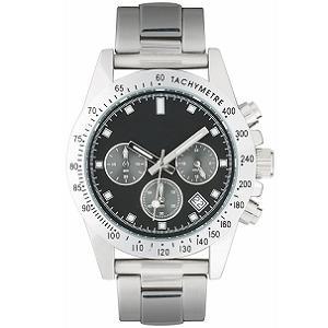 Horloge snel Timberwood stalen band met logo