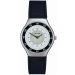 Horloge City Line Slim metal met logo
