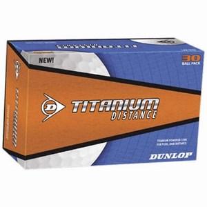 Golfbal Dunlop Titanium Distance