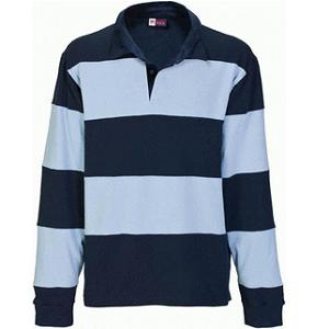 Rugbyshirt Zerega stripe