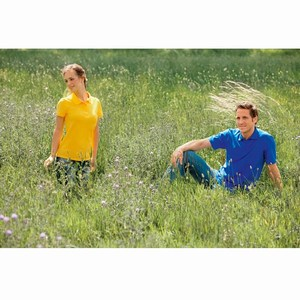 Hanes ComfortSoft Organic Polo for him