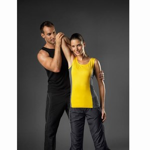 Hanes Cool-DRI Contrast Tank Top for her
