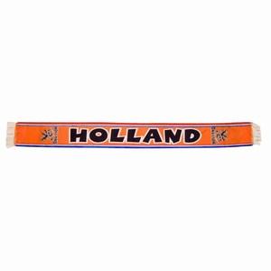 Polyester Scarve (155cm x 15cm) with Orange Fringes