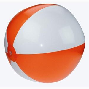 Beachball 21 Inch Deflated oranje-wit
