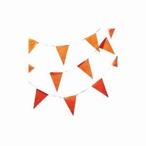 Vlaggenlijn 10 meter oranje