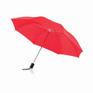 20 inch opvouwbare paraplu rood
