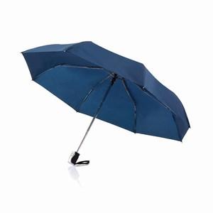 21,5 inch 2 in 1 automatische paraplu blauw