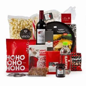 Kerstpakket Mooi rood