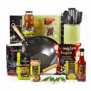 Kerstpakket Wok and Eat