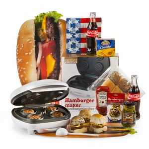 Kerstpakket Hamburger Party