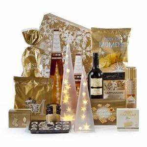 Kerstpakket Golden Lights