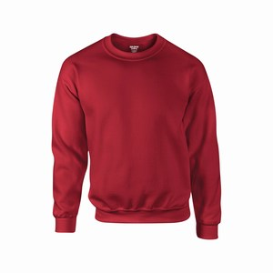 Gildan 12000 sport sweater cardinal red