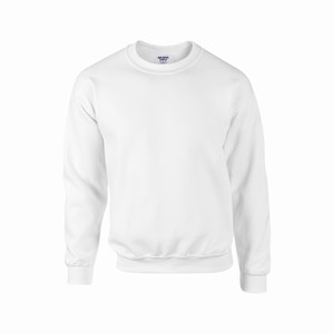 Gildan 12000 sport sweater white