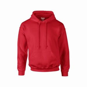 Gildan 12500 hooded sport sweater red