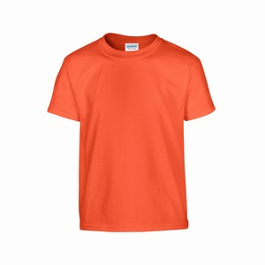 Gildan 5000B kinder T-shirt orange