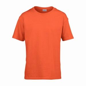 Gildan 64000B kinder T-shirt softstyle orange